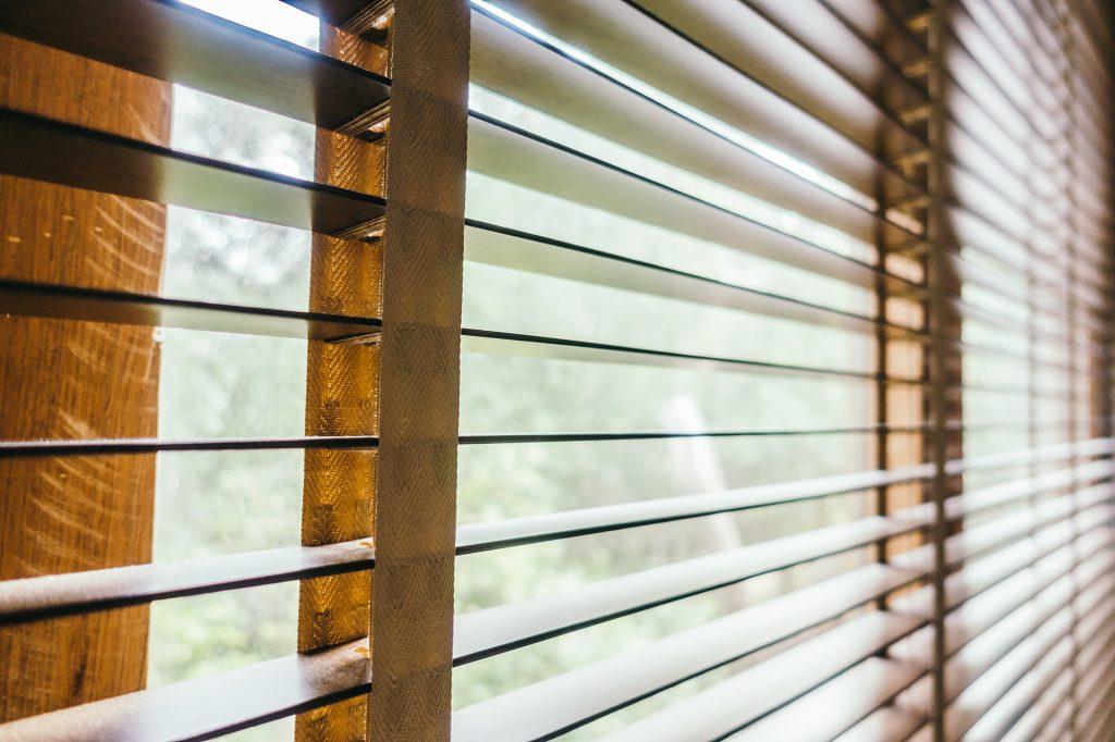 Blinds window decoration interior of room - Vintage Filter